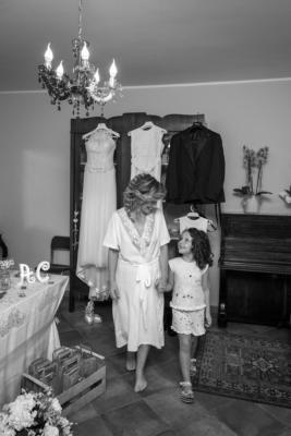 la sposa e la sua bambina
