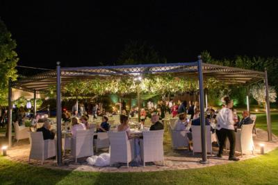 cena in giardino